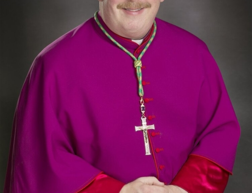 Archbishop Upham sends Christmas greetings